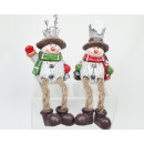 Snowman edge seat 18x8x6cm XL very high quality,