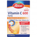 Abbey Vitamin C 600 Plus cink 42 tabletta