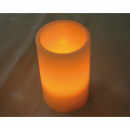 Real Wax LED Candle 13X7,5CM, warm wit licht