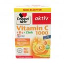 Doppelherz C-vitamin 1000 + D-vitamin 30 Tabl.