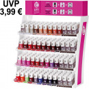 CF gel effect nail polish counter display 288-teil