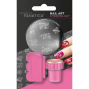 Cosmetic Stamp Set for nail polish 3 parts