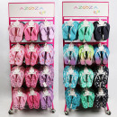 wholesale Fashion & Apparel: Slipper girl assortment 144 pieces, 4 assorted