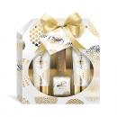 Coffret Cadeau Gold Vanilla 4 pièces dans un écrin