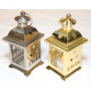 wholesale Wind Lights & Lanterns: Lantern gold and silver 14x7cm shiny