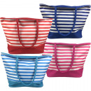 wholesale Miscellaneous Bags: Beach bag with zipper 50x38x15cm