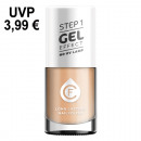 CF gel effect nail polish, color no. 108, caramel
