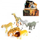 Animals Zoo XL 6- times assorted in the Display ,