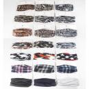 Schal Multifunktion in 21 Designs, Unisex