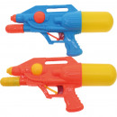 Water pistol 32.5 cm 2- times assorted with pump &