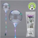 Großhandel Geschenkartikel & Papeterie: LED Ballon ca. 25cm Durchmesser mit 15 LEDs