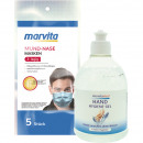 wholesale Other: Hygiene package-3 Marvita 5-pack masks + 500ml gel