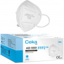 Mouth and nose protection CEKA med half mask FFP2