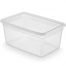 Aufbewahrungsbox mit Deckel 58x39x26,5cm ca. 40l