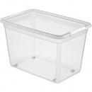 Aufbewahrungsbox mit Deckel 58x39x37,5cm ca. 60l