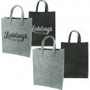 Tasche Einkaufstasche Filz 35x45x14,5cm 2 Farben s