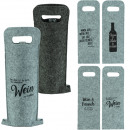 wholesale Miscellaneous Bags: Bag bottle bag made of felt 50x18x20cm