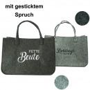 Tasche Einkaufstasche Filztasche 50x33,5x25cm
