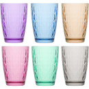 wholesale Drinking Glasses: Glass of water glass set of 6! 415ml, gift box