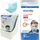 wholesale Make up: Mouth-nose mask Marvita 3 layers 5 pieces