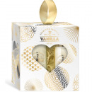 Coffret Cadeau Or-Vanille 3 pièces en coeur-Fenste