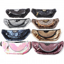 wholesale Travel Accessories: Belly bag with sequins in 8 trendy colors