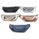 wholesale Travel Accessories: Fanny pack leatherette 30x11cm in 5 trendy