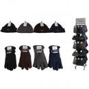 wholesale Shoes: Winter assortment men 144 pieces on metal stand