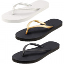 Großhandel Schuhe: Flip Flop Damen Glitter, 3 sortiert , 100% ...