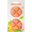 Scented wax Tropical fruits on blister card