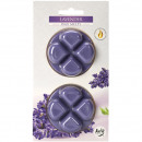 Scented wax Lavender on blister card