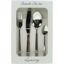 Cutlery set Luxury 4 pieces 18/10 stainless steel