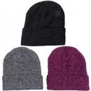 Großhandel Kopfbedeckung: Winter Strickmütze Da/He mit Innenfleece