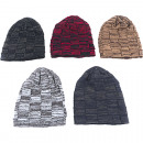 wholesale Fashion & Apparel: Winter knit cap men patterned with innerfl.