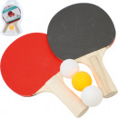 Table tennis racket set standard 2pcs & 3 ball