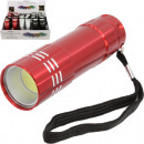 Flashlight 9cm in the Display 3 colors assorted