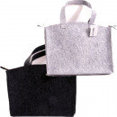 wholesale Bags & Travel accessories: Bag shopping bag felt approx 36x27x6cm
