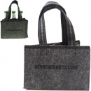 wholesale Bags & Travel accessories: Bag shopping bag felt approx 23x15x15cm