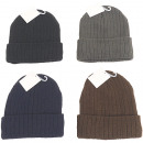 wholesale Fashion & Apparel: Winter knitted hat men with inner fleece