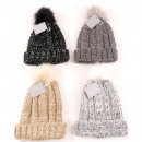 Winter assorted Bommel 4 colors assorted