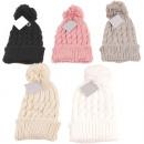 hurtownia Fashion & Moda: Zimowy dzianinowy dzianinowy kapelusz Knit ...