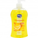Soap liquid Elina 500ml Lemon with dispenser