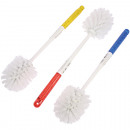 wholesale Bath Furniture & Accessories: Toilet brush 36cm acrylic handle in trendy assorte