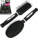 Hairbrush rubberized 6- times assorted in the Disp
