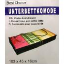 Großhandel Ordnung & Aufbewahrung: Unterbettkommode 103x45x16cm