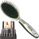 Hairbrush Luxury rubberized grip Display 6-fold s