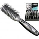 wholesale Make up: Hairbrush Luxury rubberized grip Display 6-fold s