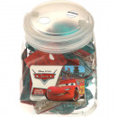 wholesale Licensed Products: DisneyCars Glass 55ml bubble bath 24er 2-fold