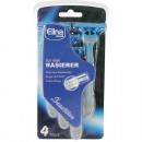wholesale Shaving & Hair Removal: Razor Disposable Elina Men 4er Softhandle 3-fold K