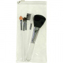 wholesale Make-up Accessoires: Cosmetic Brush Set 6-piece 12-15cm in Beautybag